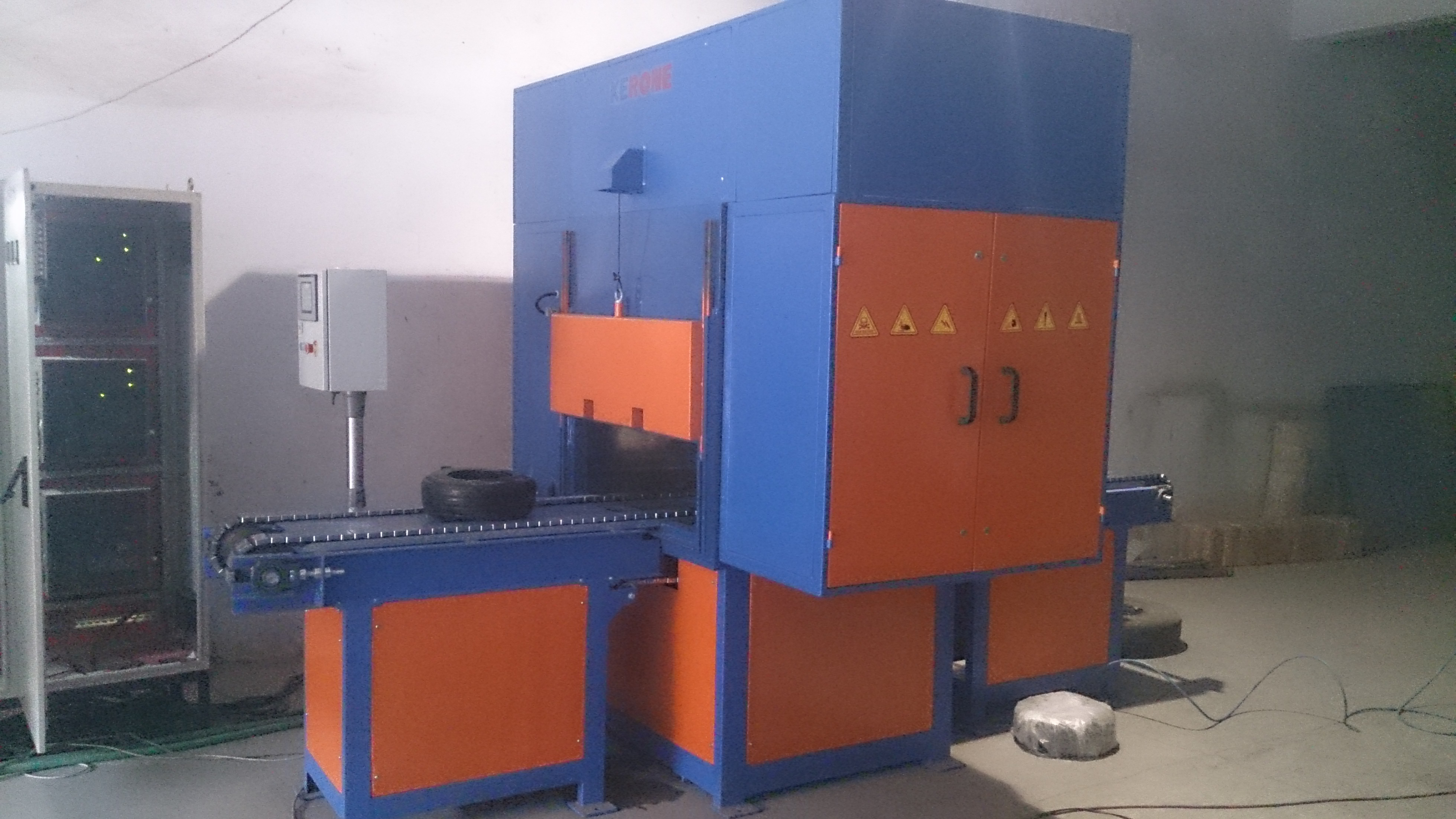 Microwave Rubber curing machine